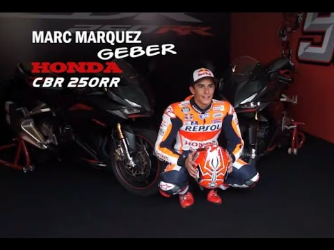 Video  Marc Marquez Jajal Honda CBR 250RR