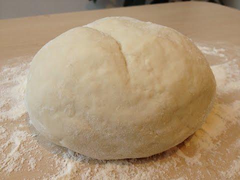 Тесто для Вареников и Пельменей (Очень Простой Рецепт)   Perogies Dough Recipe, English Subtitles