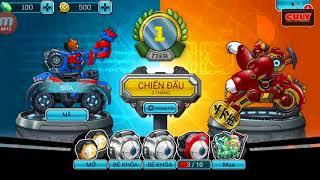 trò chơi đấu Robot đồ chơi - cu lỳ chơi game toy attack