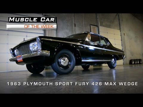 Muscle Car Of The Week Video #60:  1963 Plymouth Sport Fury 426 Max We