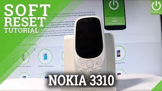 NOKIA 3310 2017 SOFT RESET / FORCE RESTART / REMOVE BATTERY