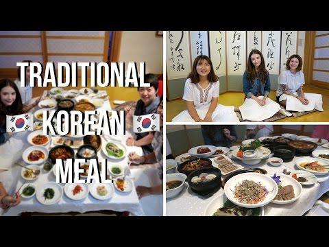 KOREA VLOG: Traditional Korean Food 한정식