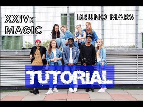 DANCE TUTORIAL | 24K Magic - Bruno Mars | Utrechtse Dansacademie streaming vf