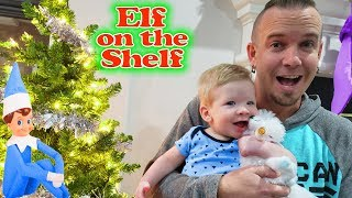 Baby's First Pet! Preston's Arctic Fox Elf On The Shelf Pet!! Day 6