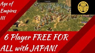 6 Player FFA with JAPAN! AoE III