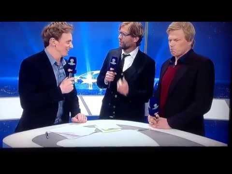 Klopp gute Antwort bei Interview auf doofe Frage nach dem CL Spiel Madrid - Dortmund 02.04.2014