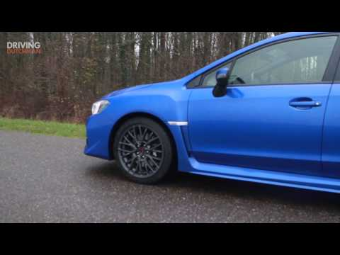 Subaru WRX STi DrivingDutchman teaser