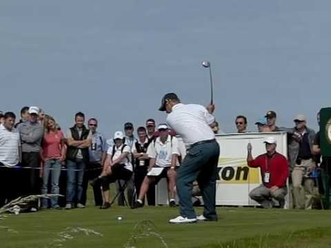DAVID DUVAL SLOW MOTION 16TH TURNBERRY OPEN 2009 Video