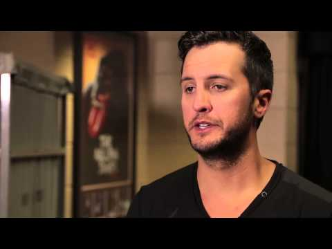Behind the Scenes at Rehearsals Luke Bryan  2014 ACM Awards