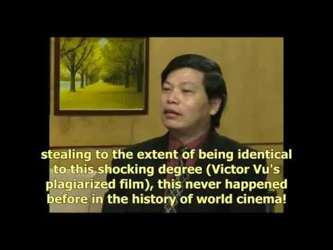 VIETNAM TELEVISION NEWS:UNETHICAL FILMMAKING BRED FILM DIRECTOR VICTOR VU'S MOVIE PLAGIARISM SCANDAL