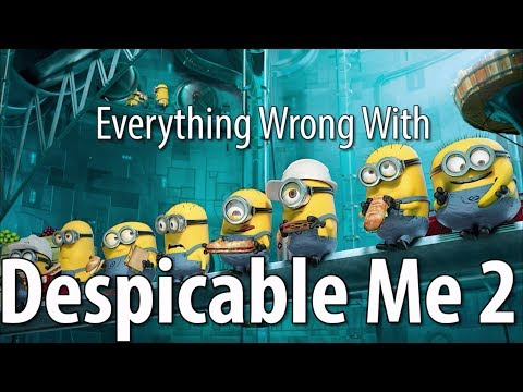Cover Lagu Everything Wrong With Despicable Me 2 In 16 Minutes Or Less