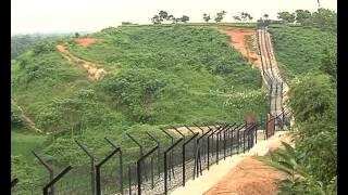 • Fencing on Indo Bangla Border