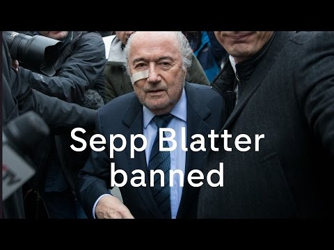 Sepp Blatter banned by Fifa: 'I will fight for me and I will fight for Fifa'