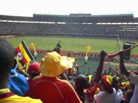 First goal celebrations for the Uganda Cranes vs Congo Brazzaville ( 16-06-2012 )