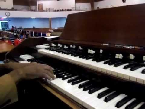 Mike Bereal at COGIC National Rehearsal 2012 Pt 1