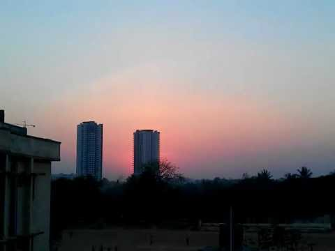 Timelapse - Sunset in Bangalore
