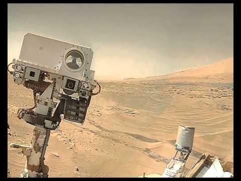 NASA's robot clicks selfie on Mars!