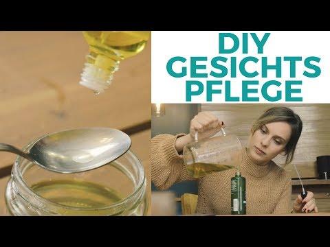 DIY Kosmetik: Pflege | Pflege für trockene empfindliche Haut selber machen