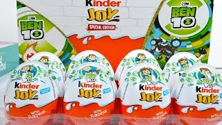 Ben 10 Kinder Joy Surprise Toy Collections