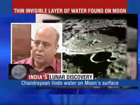 CHANDRAYAAN FINDS WATER ON THE MOON