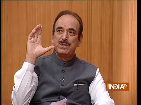 Ghulam Nabi Azad speaks on why Rahul Gandhi has become active of late