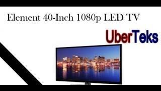 Element 40-Inch 1080p 120Hz LED TV (ELEFT406) Overview & Review