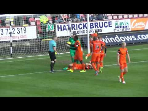 Goalkeeper Cammy Bell was the United hero after saving three penalties in an incredible first half at East End Park. Bell denied Gavin Reilly, Nicky Clark and Paul McMullan as Ray McKinnon's...
