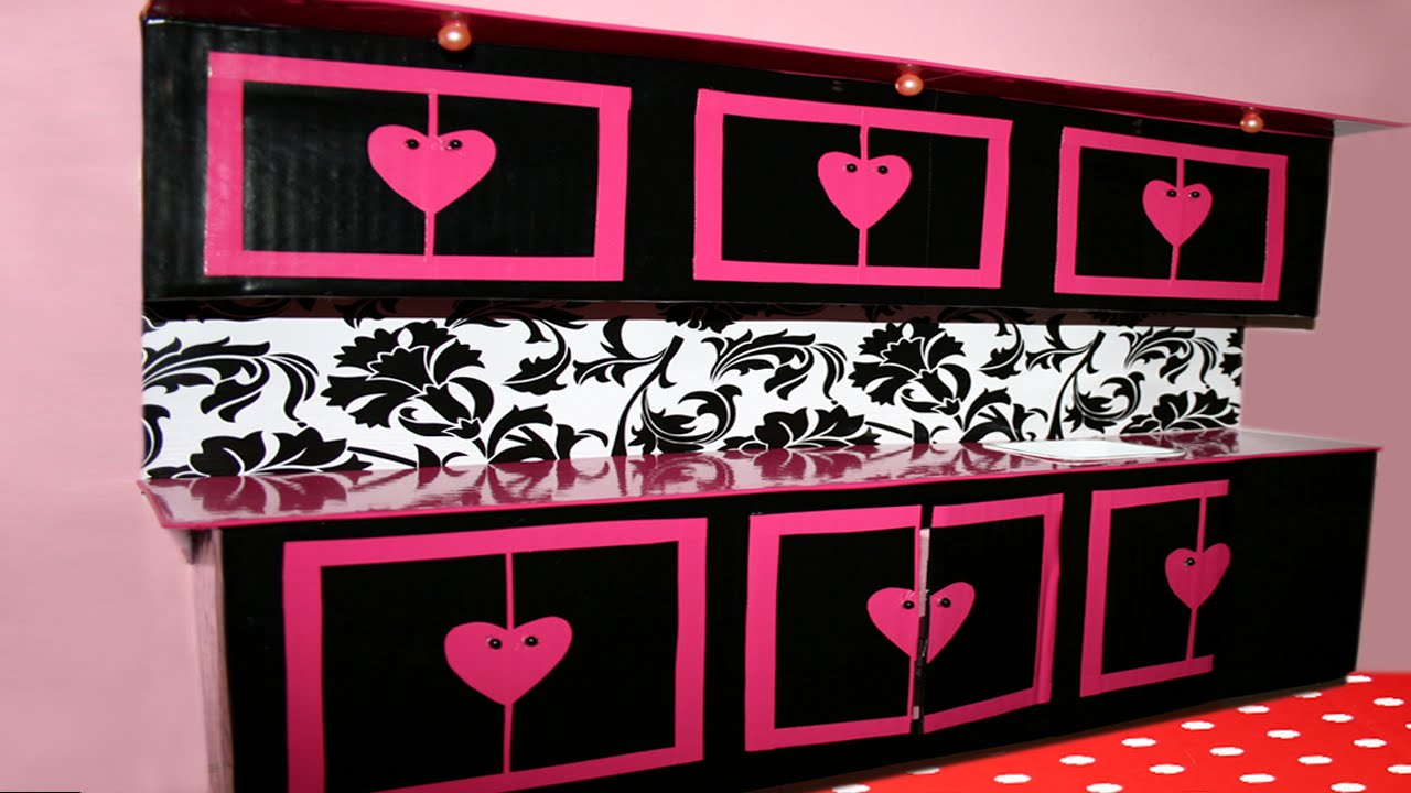 Кухня своими руками фото для кукол 423