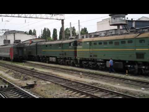 [ЭД9М] Прибытие на станцию Краснодар-1