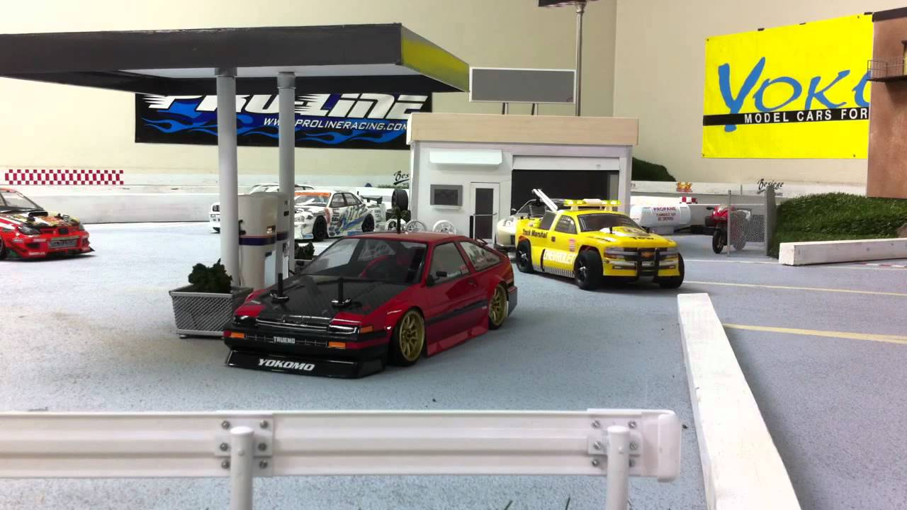 Rc Tow Truck At Fpr Parking Drift Car Youtube