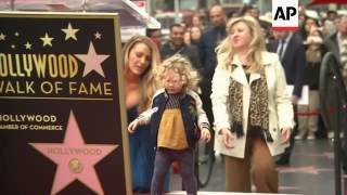 Ryan Reynold's daughters steal the show during the actor's Walk of Fame ceremony