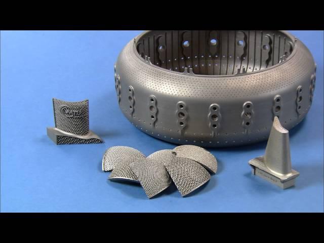 e-Manufacturing from EOS at MTU Aero Engines
