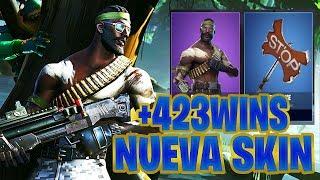 +423 WINS|A POR VICTORIAS*NUEVA SKIN *BANDOLERO*FORTNITE BATTLE ROYAL