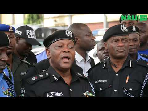 Police parade gang leader of Badoo Cult group in Lagos