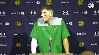 @NDFootball | Ian Book Post-Game Press Conference vs Georgia (2019)