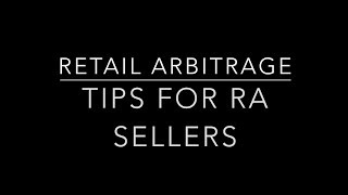 Retail Arbitrage: Tips for Sellers