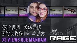 OPEN CASE STREAM #02 BY CSGORAGE.COM - OS VIEWS QUE MANDAM