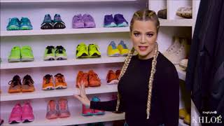 [FULL VIDEO] Khloe Kardashian | Sneakers Collection + Fitness Closet & Jeans Organization | KHLO-C-D
