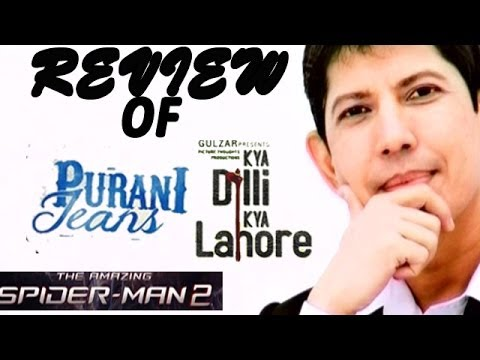 The Zoom Review Show - Purani Jeans, Kya Dilli Kya Lahore And The Amazing Spider-man 2 video