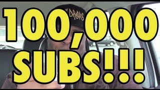 !!! 100,000 SUBSCRIBERS Daym Rocks the Mic !!!