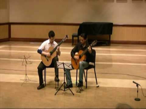 0 Live: Moonlight   Classical Guitar Duet