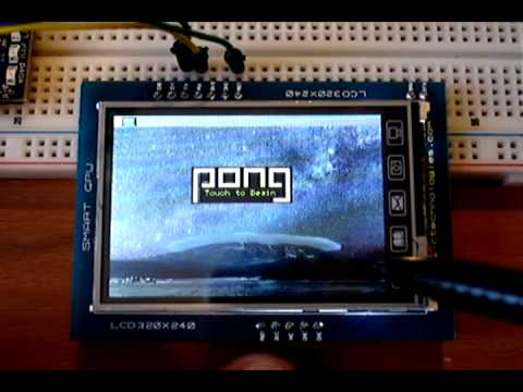 SMARTGPU LCD - mbed Ipod like demo