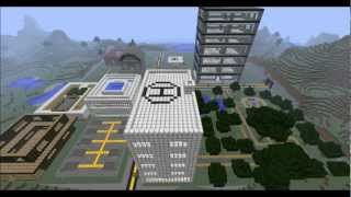 Minecraft - Timelapse modern City/neighbourhood (HD)
