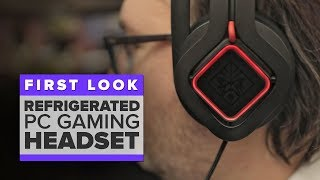 HP's Omen Mindframe refrigerated PC gaming headset