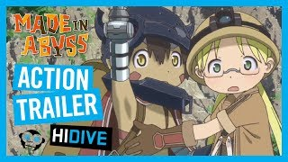 Made in Abyss HIDIVE Action Trailer