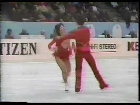 Spitz & Gregory (USA) - 1983 World Figure Skating Championships, Ice Dancing, Free Dance