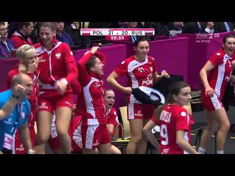 Polska 21:20 Rosja - Piłka Ręczna Kobiet - Polska W PÓŁFINALE MŚ!!!