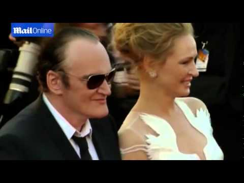 Quentin Tarantino spins Uma Thurman on Cannes red carpet thumbnail