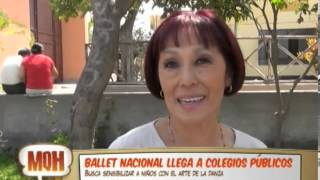 Ballet Nacional Llega A Los Colegios Pblicos