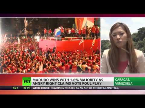 Venezuela declares Maduro president-elect amid violent protests  Apr 16, 2013